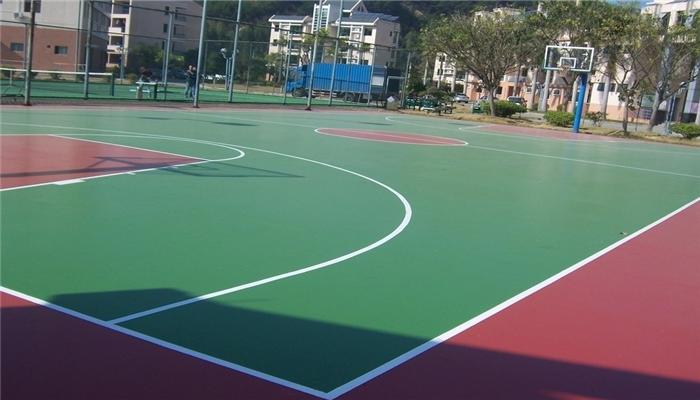 成都塑胶篮球场造价