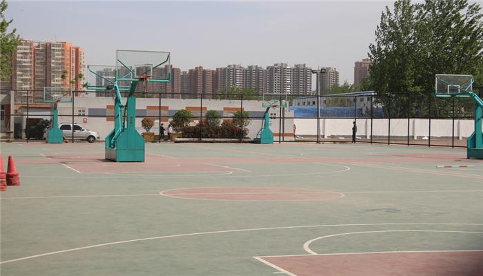 一个篮球场的造价