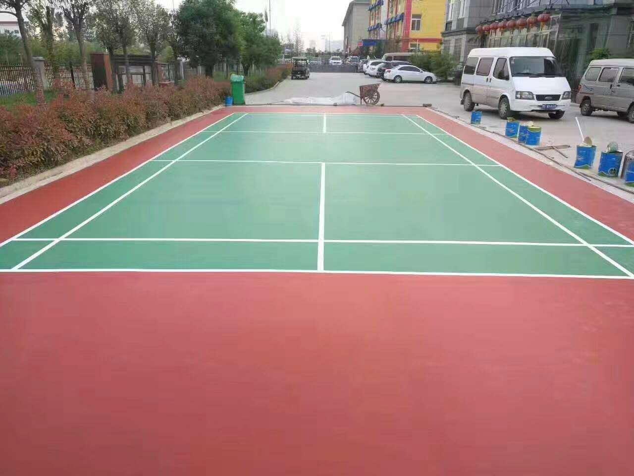 河南郑州羽毛球场